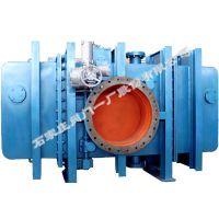 供应石家庄阀门一厂环球牌水冷式封闭电动插板阀 (SCZ943X-3CDN800-4200)