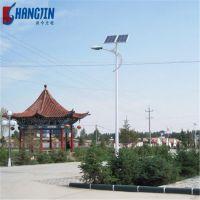 6米7米30W太阳能路灯价格表 LED路灯工程安装新农村项目改造
