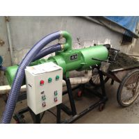 液下泵处理机 干湿分离机型号 润丰牌 粪便脱水机效果视频