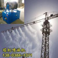 湖北荆门工地塔吊喷淋降尘系统