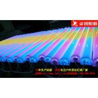 广西玉林LED数码管黄光轮廓广告灯管优质灯具户外必备-灵创照明