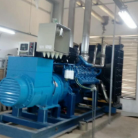 400KW千瓦柴油机发电机组 潍柴博杜安6M33D447E200 柴油发电机