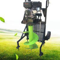 富兴大马力挖坑机 葡萄园施肥挖坑机 车载式打坑机价格