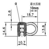 生产厂家批发零售热塑弹性体(TPE)条