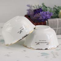 陶瓷餐具 骨质瓷家用米饭碗 厨房用品批发定制礼品套装