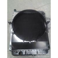 摊铺机铝板翅散热器 北京三一SAP220-压路平摊机配件水箱批发