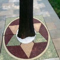 品石3cm透水混凝土 艺术透水地坪