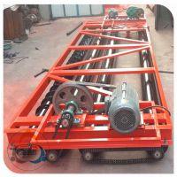 滚轴滚筒摊铺机 混凝土砼路面振动梁 三人行路面机械