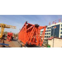 韩起两台100吨31米跨龙门吊发往湖北