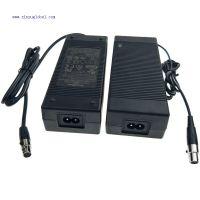 鑫粟国际14节磷酸铁锂电池充电器51.1V2A带mini卡侬头 UL认证