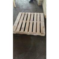 胶州实木托盘厂家定制出口熏蒸松木托盘四面进叉