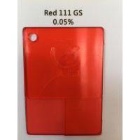 特价供应透明红GS/111#红