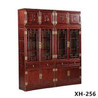 海兴老榆木实木书柜定做批发
