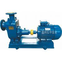 长申厂家直销ZW型系列自吸式无堵塞排污泵