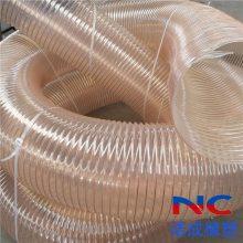 吸粮机专用pu钢丝伸缩软管耐磨损耐腐蚀伸缩管厂家价格
