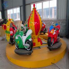 小型儿童游乐场设备摩托竞赛mtjs公园游乐设施三星厂家