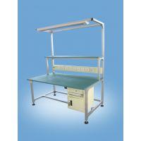 低价销售奥瑞斯铝合金工作台,精益管作业台,防静电工作台