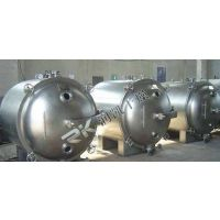 润凯干燥品质精选方形圆形真空干燥机 主要由方形真空干燥机、冷凝器、除尘器、真空抽气系