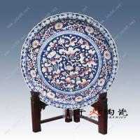 陶瓷大瓷盘有哪有用处 摆式装饰作用 装海鲜的盘子