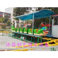 鸡西精致可爱轨道青虫滑车新型儿童游乐设备创艺游乐厂家畅销定制