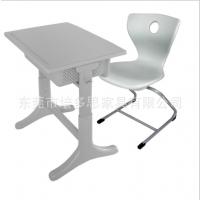 加厚中空中小学生课桌椅可升降桌椅塑料课桌椅培训桌椅出口学生桌