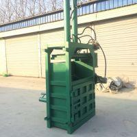 纸箱废铁屑打包机 富兴油漆桶液压压块机 废铝液压打包机视频