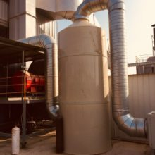 首信环保定制酸雾净化器 酸雾净化塔 喷淋塔的的工作原理