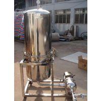 天沃WK400白酒过滤机 果汁白酒药酒硅藻土过滤器 分离杂质过滤器