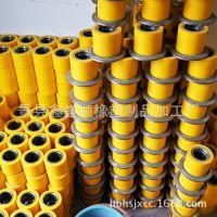 生产优质矿用滚轮罐耳 聚氨酯弹性体导向轮 耐磨耐腐蚀