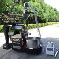 咖啡豆专营店连锁店烘焙机器 南阳东亿12公斤咖啡烘焙机设备