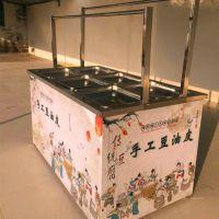 瑞诚供应自动油皮机 油皮机器价格低 免费送技术 电动蒸汽油皮机