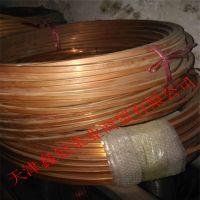 空调紫铜管6.35*0.75脱氧医用9.52*0.8紫铜管多少钱一米?