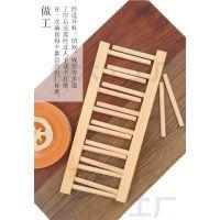 健木茶叶架厨房置物架碗筷沥水架实木书架收纳架