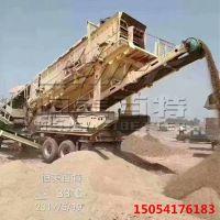 山东恒美百特大型移动碎石设备生产厂家 建筑垃圾碎石生产线
