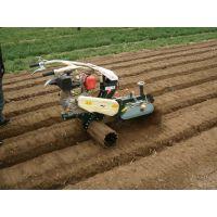 大棚草莓种植开沟机 自走式培土施肥开沟机 柴油大马力田园管理机价格山东思路批发小型农业机械