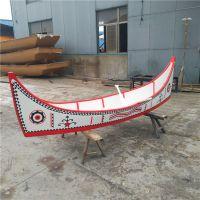 殿宝木船制造厂生产供应景观木船 装饰亮化海盗船 广场景观船 彩绘船