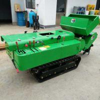 启航自走式撒肥机 行走变速箱和刀具变速箱分开设计 履带式施肥机