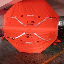 25人可吊式自扶正救生筏宁波海神救生设备有限公司提供SEA-AIR海神牌ADLSR-25型