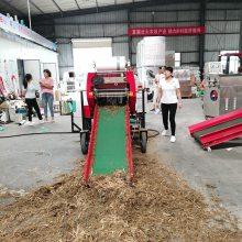 甘肃青储秸秆打包机 牧草打捆打捆机