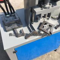 供应家具厂切角机 精诚方管角度机 教你如何一次成型铁管切90度直角