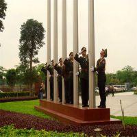 耀恒 8-9米高的旗杆要挂几号国旗 ,不锈钢企业旗杆一般高度