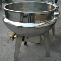 番茄酱搅拌夹层锅 电加热水果酱搅拌锅 山东夹层锅价格