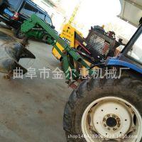 车载式带动挖坑机 大直径拖拉机挖坑机 春季专用植树挖坑机