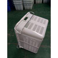 兴丰塑胶供应深圳电子周转箱 电子元件箱 中空板 蓝色塑料箱420*300*150