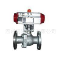 温州高品质Q641F-16C法兰球阀,气动碳钢法兰球阀DN80实惠价