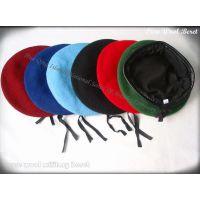 彩色羊毛贝雷帽 Beret 纯羊毛贝雷帽 wool Beret