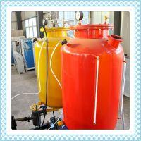 供应亿双林聚氨酯pu天然气管保温发泡机,天然气管泡沫保温发泡设备