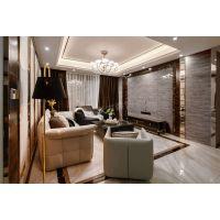 花园洋房140平米装修案例 现代轻奢设计效果实景图