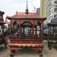 浙江香炉厂家铸造寺庙长方形香炉价格