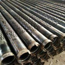 工地降水打井钢管-273井壁管-325钢花管降水